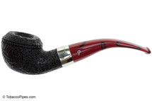 Peterson Dracula 999 Sandblast Fishtail Tobacco Pipe Left Side
