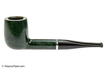 Savinelli Arcobaleno 111 Green Tobacco Pipe - Smooth Left Side