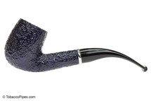 Savinelli Arcobaleno 606 Blue Tobacco Pipe - Rustic Left Side