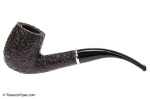 Savinelli Arcobaleno 606 Brown Tobacco Pipe - Rustic Left Side