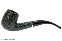 Savinelli Arcobaleno 606 Green Tobacco Pipe - Rustic Left Side