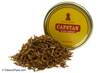 Capstan Gold Navy Cut Ready Rubbed Pipe Tobacco Tin