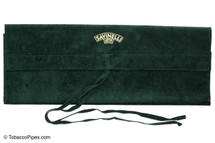 Savinelli Long Velvet Pipe Pouch - Green