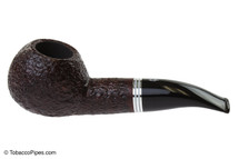 Savinelli Bianca 320 Tobacco Pipe - Rusticated Left Side