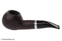Savinelli Bianca 320 Tobacco Pipe - Rusticated Left Side