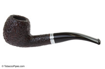 Savinelli Bianca 626 Tobacco Pipe - Rusticated Left Side