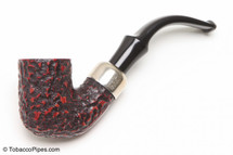 Peterson Standard Rustic 313 Tobacco Pipe Fishtail Left Side