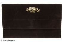 Savinelli Velvet Tobacco Pipe Pouch - Brown