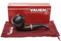 Vauen Olaf 1815 Smooth Finish Tobacco Pipe - 9mm Kit