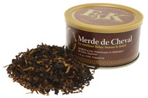 F & K Merde de Cheval Pipe Tobacco Tin - 1.5 oz