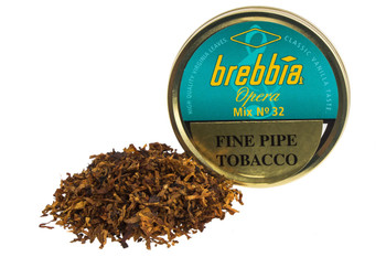 Brebbia Opera Mix No. 32 Pipe Tobacco Tin - 50g