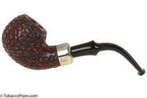 Peterson Standard Rustic 302 Tobacco Pipe Fishtail Left Side