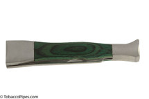 Brigham Green Wood Inlay Pipe Tool