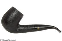 Brigham Giante 1202 Black Tobacco Pipe - Sandblast