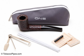 Savinelli One Rustica 404 Tobacco Pipe Kit