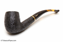 Savinelli Oscar Tiger Rustic Briar Pipe KS 606 Tobacco Pipe Left Side