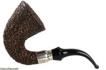 Brebbia First Calabash Plum Tobacco Pipe - Rustic