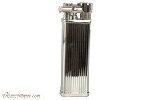 Pearl Bolbo Silver Stripe Pipe Lighter