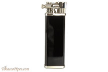 Pearl Bolbo Black & Silver Pipe Lighter