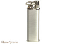 Pearl Bolbo Chrome Satin Pipe Lighter