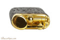IM Corona Old Boy Gold Sandblast Briar Pipe Lighter Top