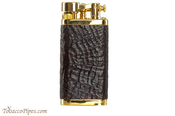 IM Corona Old Boy Gold Sandblast Briar Pipe Lighter