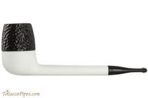 Nording Eriksen Keystone White Stem Rustic Bowl Tobacco Pipe