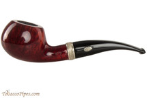 Brebbia MPB Sailing 601 Amaranto Tobacco Pipe - Author Smooth