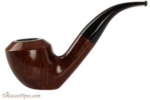 Vauen Curve 3335 Red Tobacco Pipe - Bent Sitter Smooth