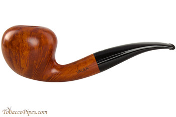 Vauen Curve 134 Light Tobacco Pipe - Bent Acorn Smooth