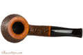 Vauen Curve 430 Brown Tobacco Pipe - Bent Pot Sandblast Top