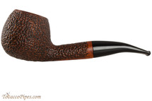Vauen Curve 431 Brown Tobacco Pipe - Bent Apple Sandblast
