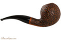 Vauen Curve 432 Brown Tobacco Pipe - Bent Ball Sandblast Right Side