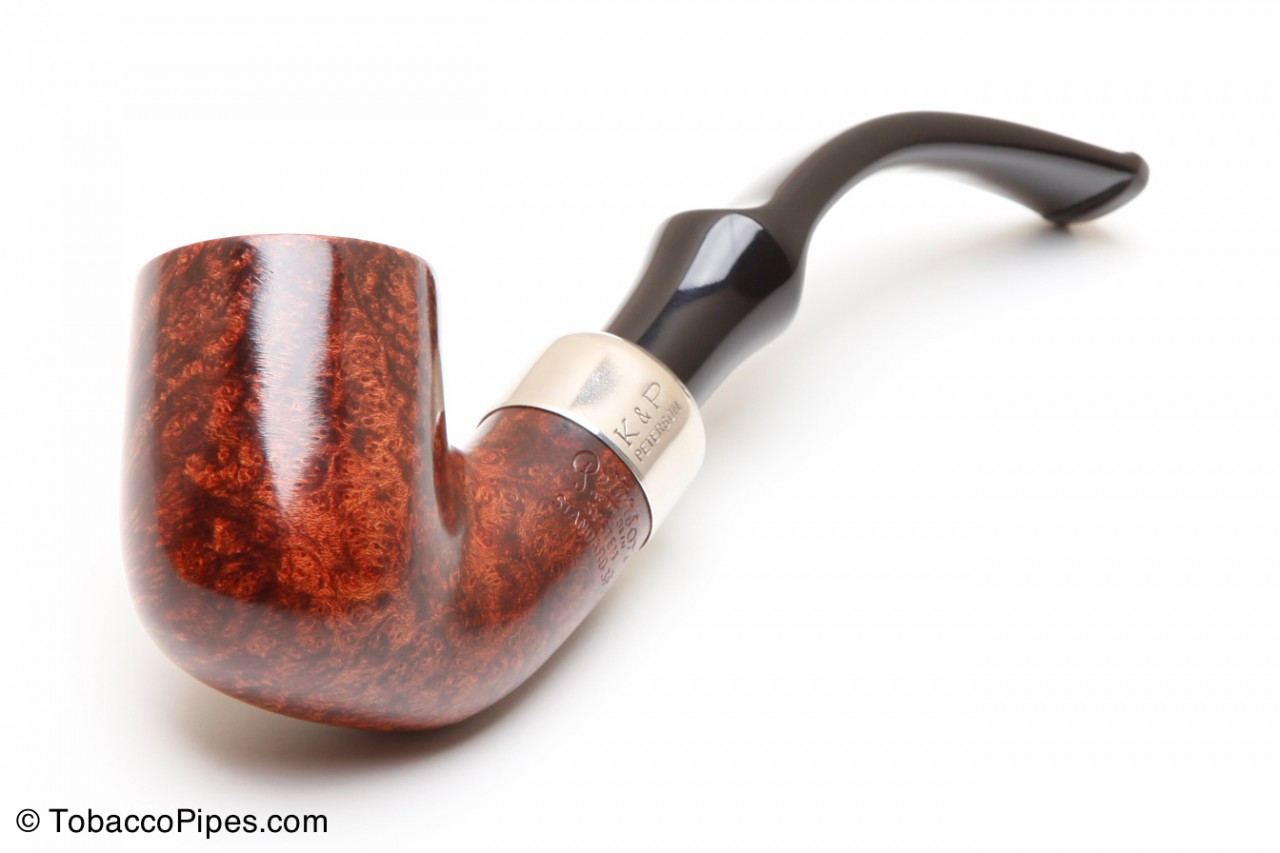 Tobacco Pipe Bent Billiard Shape