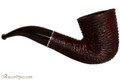 Savinelli Mega 611 Brownblast Tobacco Pipe - Bent Dublin Right Side