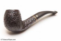 Savinelli Roma KS Briar Pipe 677 Black Stem Tobacco Pipe Left Side
