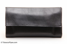 Jobey Roll Up Lambskin Tobacco Pouch Side