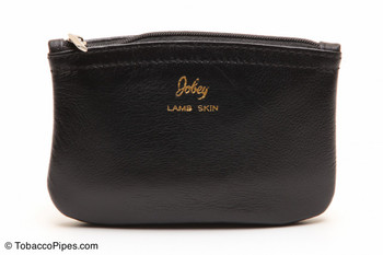 Jobey Small Zipper Pouch with Plastic Lining Tobacco Pouch Side