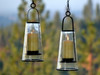 H Potter Hanging Patio Deck Candle Holder Lantern