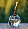 H Potter Apple Shape Patio Deck Table Top Torch