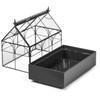 H Potter Plant Terrarium Container Wardian Case Indoor Planter 65-1