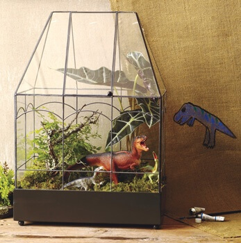 H Potter Glass Terrarium Wardian Case
