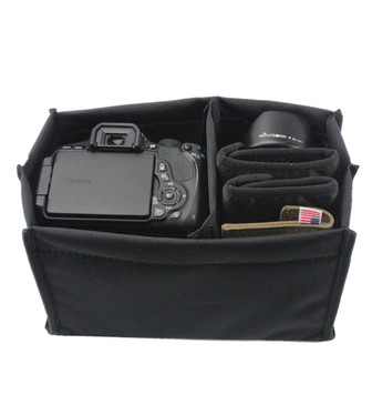 Adjustable Camera Bag Insert - Small Made in the U.S.A. - SML-CAM-INSRT