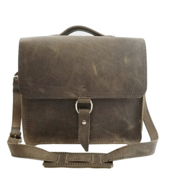 """10""""Small Safari Midtown iPad (Tablet) Bag in Distressed Oil Tanned Leather"""