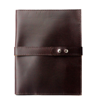 Large Padfolio in Napa Latigo Leather Made in the U.S.A. - LG-RDBR-LAT-PDFOL