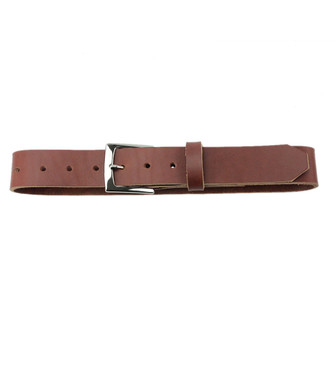 The Staton Belt - Full Grain Leather Belt  - Toffee Made in the U.S.A. - TOF-BLT-PLN-NP
