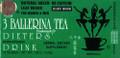 3 Ballerina Tea Dieters' Drink - Extra Strength 18 bags