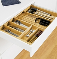 Wooden Cutlery Trays
