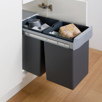 Double Boy Waste Bin