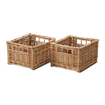 Wicker Baskets (Pair)